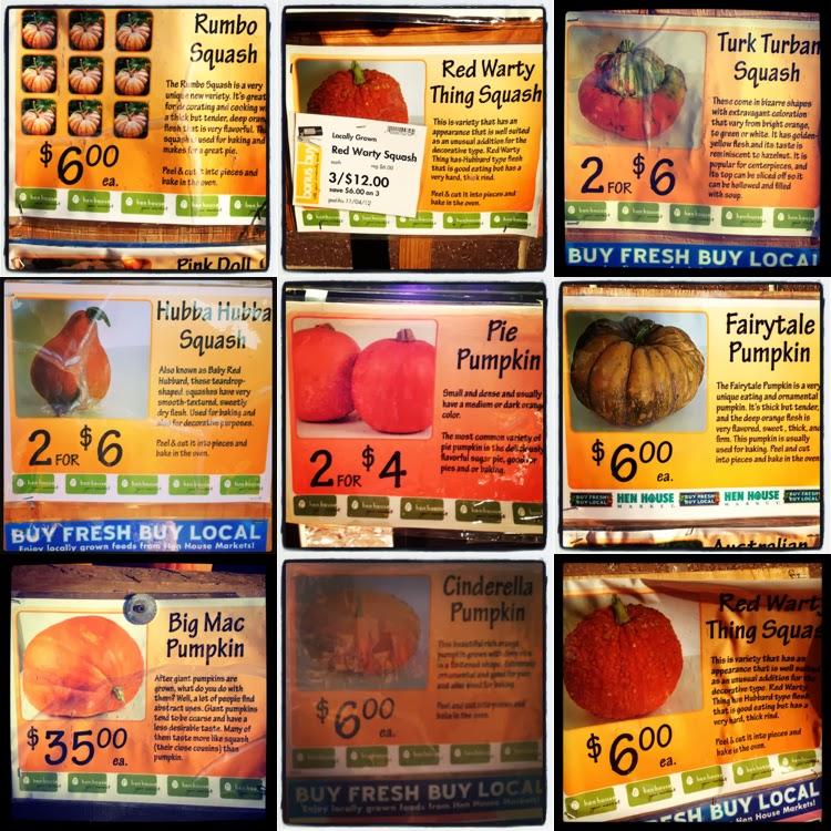 Trouvailles du vendredi : invasion de pumpkins au supermarché !