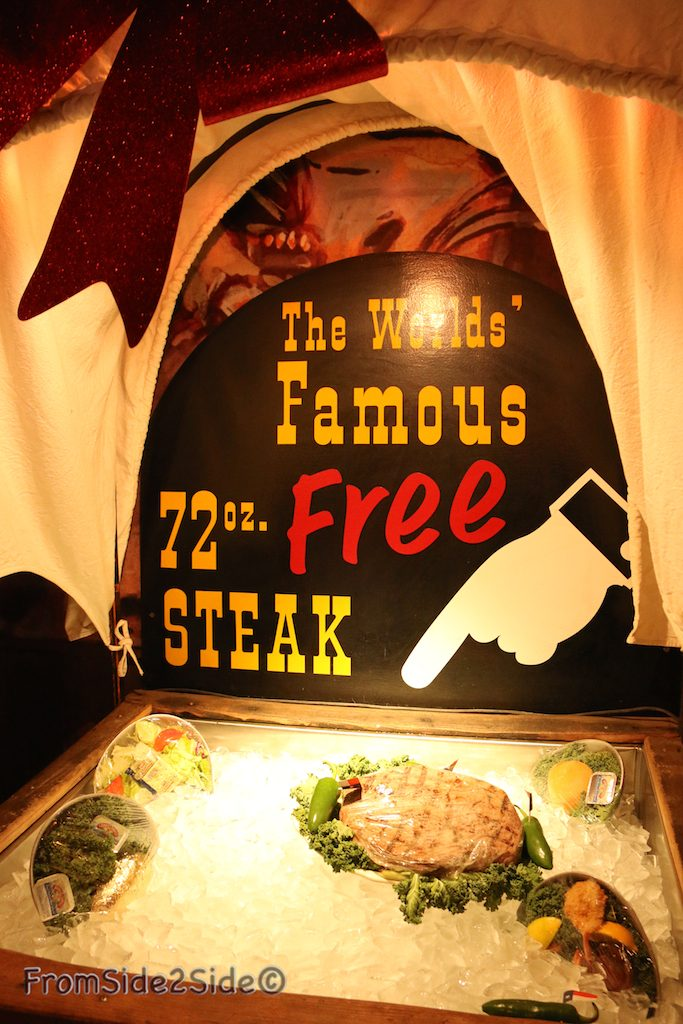 BigTexan : the famous 72 oz. steak