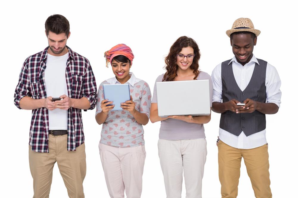 High schoolers chez Shutterstock