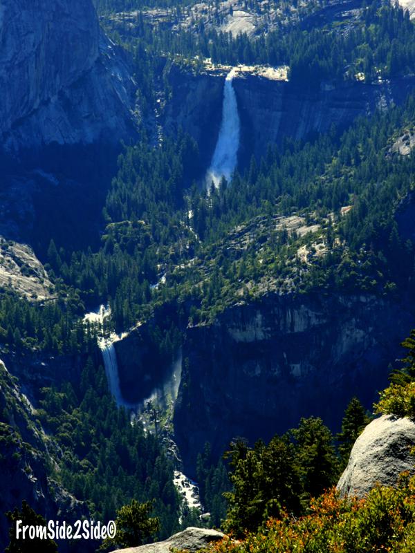 Vernal et Nevada Falls - Yosemite