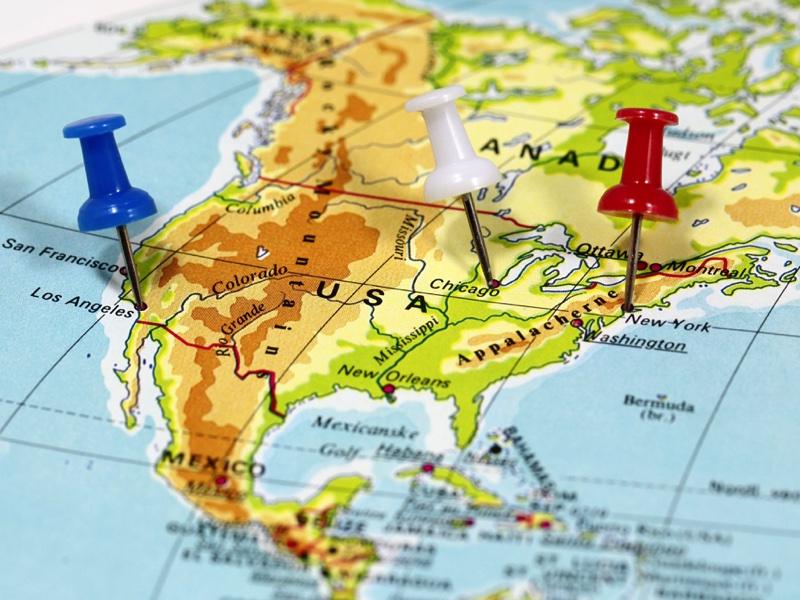 vérifier l'état des routes aux Etats-Unis