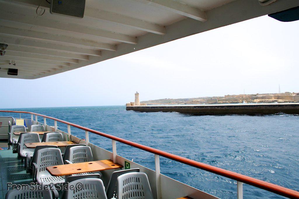 ferry à La Valette - Malte