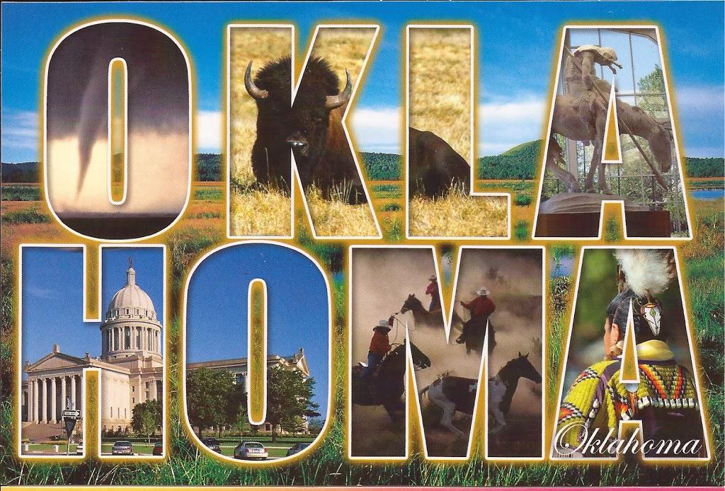 Entre le Kansas et le Texas : l'Oklahoma !